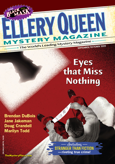 """Killer Biznez"" by Zandra Renwick in Ellery Queen's Mystery Magazine"